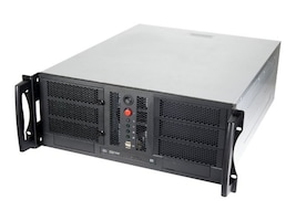 Chenbro Chassis, 4U Open-Bay Compact Rackmount, CEB, 3x5.25, 6x3.5, 7xSlots,, RM42300-F, 13782013, Cases - Systems/Servers