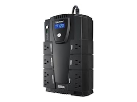 CyberPower Home Office Series 825VA 450W UPS with LCD, Phone Network Protection, CP825LCD, 7781532, Battery Backup/UPS