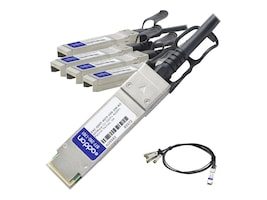 AddOn DAC-QSFP4SFP10G1M-AO Main Image from Front