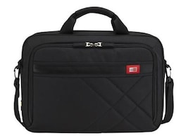 Case Logic 15.6 Laptop and Tablet Case, Black, DLC-115BLACK, 13663241, Carrying Cases - Notebook