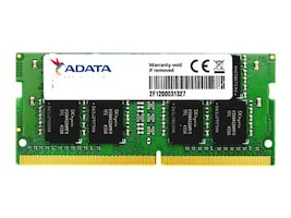 A-Data 16GB PC4-17000 260-pin DDR4 SDRAM SODIMM, AD4S2133316G15-S, 34308214, Memory