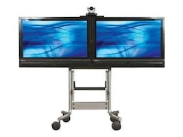 Avteq Dual Display Mobile Cart for 32-55 Displays, RPS-500L, 14620833, Computer Carts