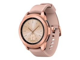 Samsung Galaxy Watch, 42mm, T-Mobile, Rose Gold, SM-R815UZDAXAR, 36238133, Wearable Technology