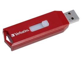 Verbatim 64GB Store 'n' Go USB Drive, Red, 97005, 15098098, Flash Drives