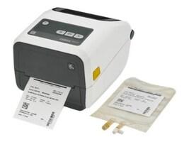 Zebra ZD420 TT Healthcare EZPL 300dpi USB Ethernet Printer w  tear Bar & US Cord, ZD42H43-T01E00EZ, 37508588, Printers - Label