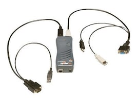 Lantronix SecureLinx SpiderDuo: Compact Remote-KVM with Local Access, USB, SLSLP400USB-01, 10453273, KVM Switches