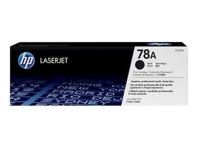 HP 78A (CE278A) Black Original LaserJet Toner Cartridge, CE278A, 10983080, Toner and Imaging Components - OEM