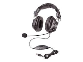 Ergoguys 3068-Style Headset w  Boom Mic, 3068MUSB, 33183430, Headsets (w/ microphone)