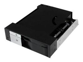 StarTech.com Dual Bay 5.25 Trayless Hot Swap Mobile Rack Backplane for 2.5 & 3.5 SATA SAS HDD or SSD w  Fan, HSB2535SATBK, 16673437, Drive Mounting Hardware
