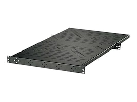 C2G 4-Point Equipment Shelf with Adjustable Rear Flange, 14628, 30594006, Rack Mount Accessories