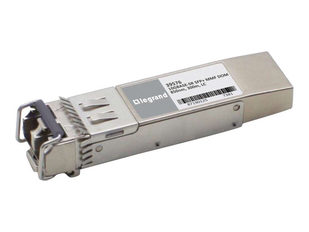 C2G 10GBASE-SR SFP+ MINI-GBIC Transceiver Module Arista AR-SFP-10G-SR Compatible, 39576, 16946503, Network Transceivers