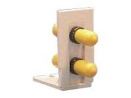 Hubbell 2-Port Fiber Insert ST Style MM, AMOBST2, 33039841, Premise Wiring Equipment