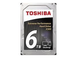 Toshiba 6TB X300 3.5 Internal Hard Drive, HDWE160XZSTA, 29491270, Hard Drives - Internal