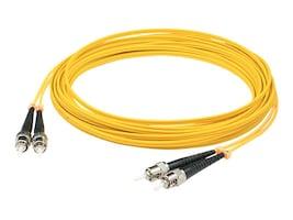ACP-EP Fiber Patch Cable, ST-ST, 9 125, Singlemode, Duplex, 10m, ADD-ST-ST-10M9SMF, 14483630, Cables