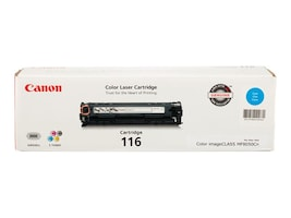 Canon Cyan 116 Toner Cartridge for imageClass MF8050Cn, 1979B001, 10195921, Toner and Imaging Components - OEM