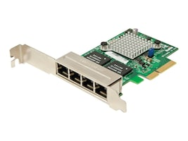 Supermicro 4-Port Ethernet Controller Based on Intel I350 Retail Pack, AOC-SGP-I4, 15459236, Network Adapters & NICs