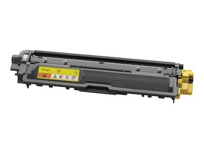 Brother Yellow Standard Yield Toner Cartridge for HL-3140CW, HL-3170CDW, HL-3180CDW, MFC-9130CW, TN221Y, 15481767, Toner and Imaging Components