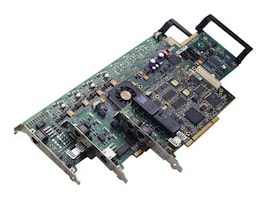 Dialogic TR1034+E2-4L, 4-Channel Analog V.34, Full Length PCIe Card, 901-007-09, 7633601, Fax Servers