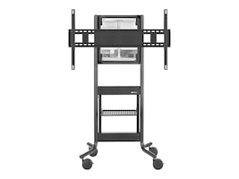 Avteq DynamiQ Height Adjustable AV Cart for 55 Spark Board, RPS-500-BB-CSB55B, 34386992, Stands & Mounts - AV