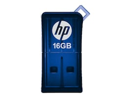 PNY 16GB HP v165w USB 2.0 Flash Drive - Blue, P-FD16GHP165-GE, 15033411, Flash Drives