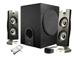 Cyber Acoustics Platinum CA-3602 3-Piece Speaker System, CA-3602, 10092957, Speakers - Audio