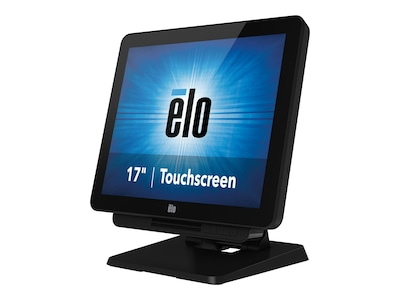 ELO Touch Solutions X-SERIES Celeron J1900 4GB 128GB SSD 17 Touch W10P, Black, E290201, 33641242, Desktops - All-in-One