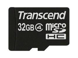 Transcend 32GB microSDHC card class 4, TS32GUSDHC4, 13070024, Memory - Flash