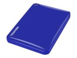 Toshiba 1TB Canvio Connect II Hard Drive - Blue, HDTC810XL3A1, 18234569, Hard Drives - External