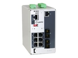Perle IDS509F2C2SD20XT 7PORT MANAGED PERPSWITCH GE RJ FE SC 2XSM20KM XTMP, 07014930, 33054689, Network Switches