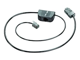 Plantronics Spare Telephone Interface Cable for Savi, 86009-01, 12966953, Headphone & Headset Accessories