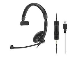 Sennheiser SC 45 USB MS Headset, 507083, 32858407, Headsets (w/ microphone)
