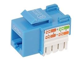 Belkin Cat5e Keystone Jack, 568A 568B, Blue, R6D024-AB5E-BLU, 7630646, Premise Wiring Equipment