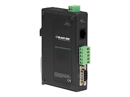 Black Box 1-Port Modbus Hardened Serial Server, LES431A, 33021385, Remote Access Hardware