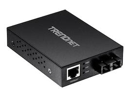 TRENDnet 1000Base-T to 1000Base-SX MMF SC Converter, TFC-GMSC, 33429014, Network Transceivers