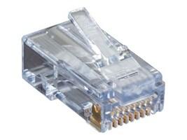 Black Box Cat6 EZ-RJ45 Modular Plugs (50-pack), C6EZUP-50PAK, 16421176, Cable Accessories