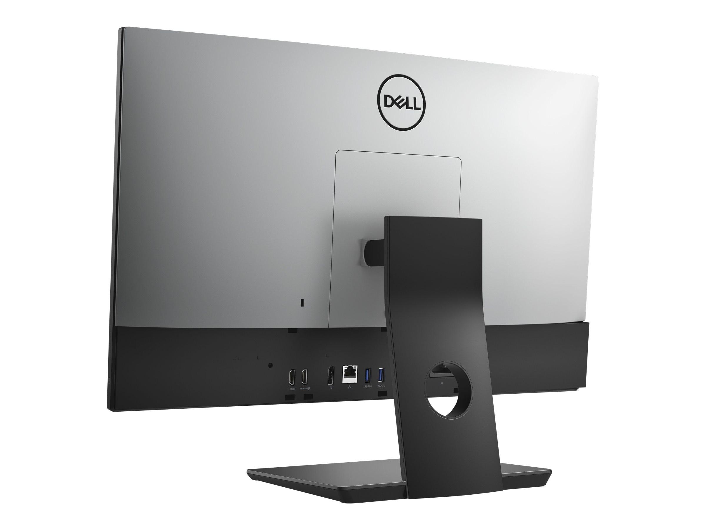 Dell OptiPlex 7460 AIO Core i5-8500 3 0GHz 8GB 256GB SSD UHD630 ac BT WC  23 8