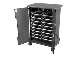 Balt 16-Unit Economy Tablet Charging and Security Cart, 27689, 31500534, Computer Carts