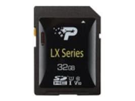 Patriot Memory LX Series 32GB SDHC V10 UHS-1 U1 Flash Memory Card, Class 10, PSF32GLX1SDH, 36007474, Memory - Flash