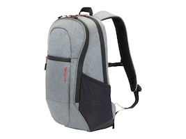 Targus 15.6 Commuter Backpack, Gray, TSB89604US, 34276478, Carrying Cases - Other