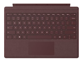 Microsoft Surface Pro Signature Type Cover, Burgundy, FFQ-00041, 34129591, Keyboards & Keypads