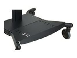 Peerless Base Shelf for SmartMount SR Series Carts, Black, ACC315, 7496037, Monitor & Display Accessories