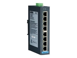 B+B SmartWorx 8-PORT FAST ETHERNET INDUSTRIAL UNMANAGED SWITCH W WIDE TEMP. LOW AC,, ESW108-A, 38000532, Network Switches