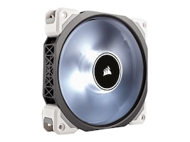 Corsair ML120Pro LED 120MM Levitation Fan, White, CO-9050041-WW, 32185118, Cooling Systems/Fans