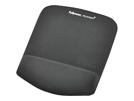 Fellowes Plush Touch Mouse Pad, Graphite, 9252201, 14864299, Ergonomic Products