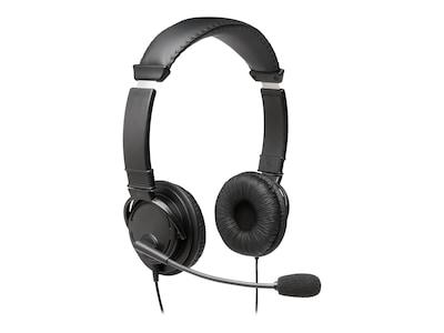 Kensington Hi-Fi Headphones w  Mic, K97603WW, 36433553, Headsets (w/ microphone)