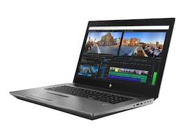 HP ZBook 17 G5 Core i7-8850H 2.6GHz 16GB 512GB PCIe ac BT GNIC WC P3200 17.3 FHD W10P64, 4RA99UT#ABA, 35689194, Workstations - Mobile