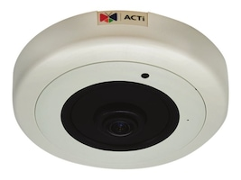 Acti 12MP Day Night Extreme WDR Indoor Hemispheric Dome Camera with 1.65mm Lens, B511A, 35242940, Cameras - Security