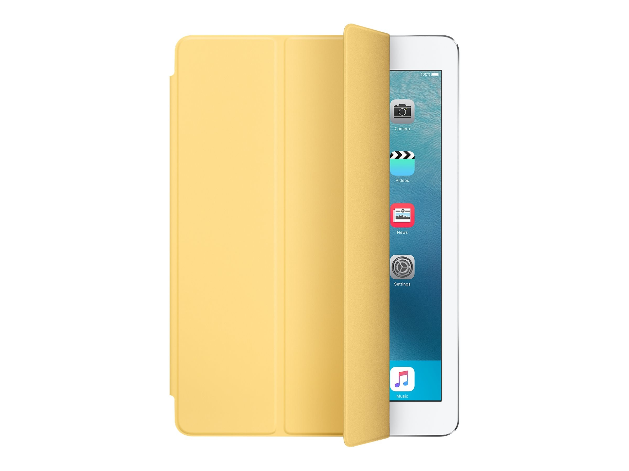 Apple Smart Cover for iPad Pro 9.7, Yellow, MM2K2AM/A, 31812298, Carrying Cases - Tablets & eReaders