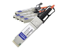 Add On Computer Peripherals JNP-QSFP-AOCBO-10M-AO Main Image from Left-angle