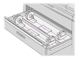 HP PageWide XL Media Drawer (2 Rolls), CZ318A, 31441386, Printer Accessories